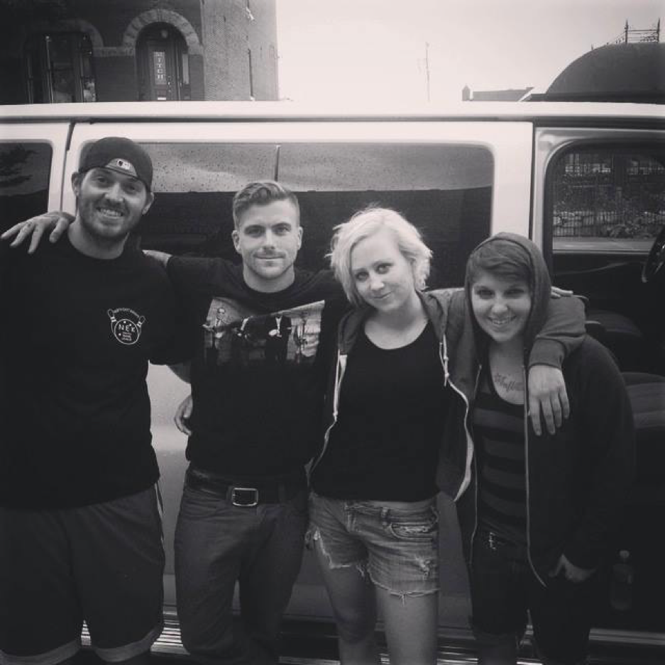 Vigil and Thieves with Anthony Green (Circa Survive, Saosin) in St. Louis, September 2014
